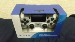 新品未開封品 保証印有り PS4 ワイヤレスコントローラー グレイシャーホワイト DUALSHOCK4 SONY