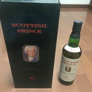 スコッチウイスキー スコティッシュプリンス SCOTTISH PRINCE 19年 700ml 40度