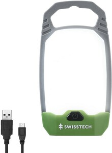 キャンプランタン ライト LED 4つ点灯モード USB充電 登山 夜釣り USB