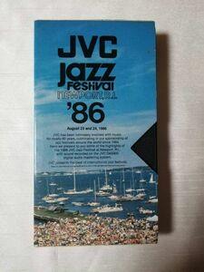【貴重 プロモVHS】 JVC JazzFestival '86/V.A (Natalie Cole Wayne Shorter Stanley Jorden Michael Franks Gerry Mulligan 参加)