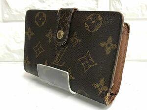 LOUIS VUITTON ルイヴィトン 二つ折り財布 がま口 ポルトモネビエ・ヴィエノワ モノグラム M61663 fah 9A178K