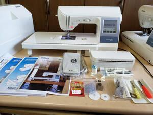 產品詳細資料,日本Yahoo代標|日本代購|日本批發-ibuy99|●超美品です!!●ブラザー実用最高級ミシン イノヴィスN150 533種類の文字模様縫い・機関、動…