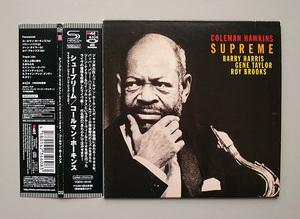 (紙ジャケ SHM-CD) Coleman Hawkins 『Supreme』 国内盤 コールマン・ホーキンス シュープリーム ライヴ・アット・レフト・バンク~
