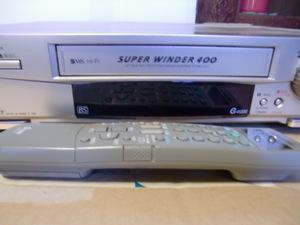 MITSUBISHI 三菱 S-VHS ビデオデッキ TBC搭載 リモコン付 HV-BS88 VHSのデジタル化に最適 動作品