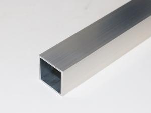 アルミ 角パイプ A6063 生地 肉厚2.0×40×40 長さ490mm 1本