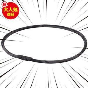 ファイテン(phiten) ★色:カーボンブラック★ RAKUWAネック ゼネラルモデル ネックレス 50cm