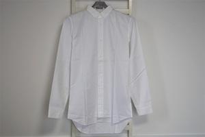 Dior Homme ディオールオム Button Down Shirt ボタンダウン 長袖シャツ ホワイト系 サイズ37 未着用
