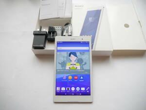 美品 防水 SIMフリー Xperia Z3 Tablet Compact SGP621 LTE