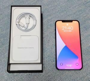 【美品】iPhone 12 Pro Max 128GB パシフィックブルー SIMフリー MGCX3J/A