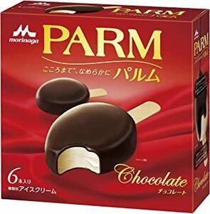 オススメ! お買い得 新品 森永乳業 PARMチョコレート 55ml×6本×6個