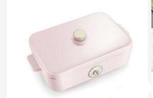 コンパクトホットプレート 5種のプレート ピンク