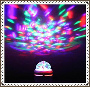!注目!激安1円スタート3W E27 ポータブルマルチ tbtn LED電球 ミニレーザープロジェクター djディスコ ライト クリスマスパーティー