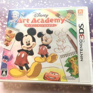 美品 ディズニー アートアカデミー 3DS Nintendo ニンテンドー3DSソフト イラスト 似顔絵 キャラクター