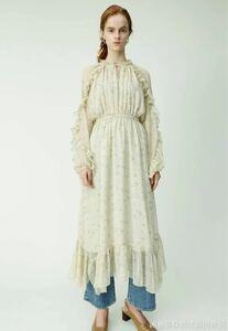 花柄 ワンピース ドレス