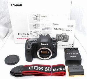 【超美品・長期保証書 付属品完備】Canon キヤノン EOS 6D Mark Ⅱ マーク2