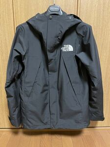 THE NORTH FACE マウンテンジャケット S ナイロン 黒 GORE-TEX MOUNTAIN JACKET NP61800