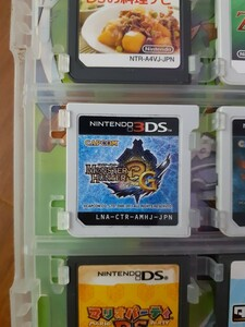 3DSソフト モンスターハンターまとめ売り 3G、4G外箱なし