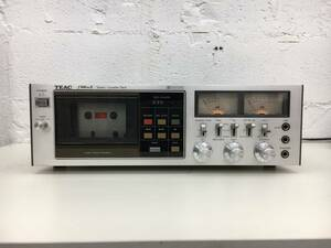 k0924-07☆TEAC f-500MKⅡステレオカセットデッキ オーディオ機器 通電確認済 現状品