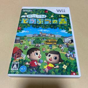 街へいこうよどうぶつの森 Wii