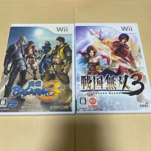 戦国BASARA3と 戦国無双3 Wii
