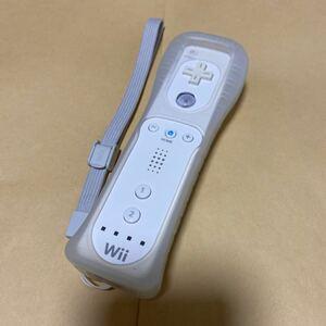 Wiiリモコン  ホワイト カバーストラップ付き Wii