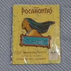 送料無料 Pocahontas ディズニー ポカホンタス ショウワノート ピンバッジ ピンズ ピンバッチ バッヂ 新品未使用