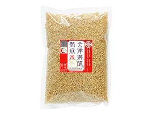 プレミアム会津薬師熟成米 お試し玄米 450g(3合x1)特A 一等米 税・送料込(クリックポスト) 抗酸化力の高い特別栽培米