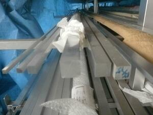 アルミ 四角棒材(5mm角~100mm角)(材質6063) 寸法 切り売り 小口販売加工 A30