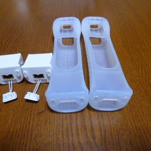 M063【送料無料】Wii モーションプラス ジャケット 2個セット(動作確認済)リモコンカバー