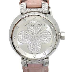 ルイヴィトン LOUIS VUITTON タンブール フォーエヴァー Q131P ダイヤ レディース腕時計 クォーツ