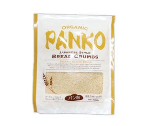 オーガニック パン粉(100g)国産小麦と有機穀物を使用☆廃糖蜜や化学薬品等は一切使用しておらず、素朴な原料と方法によって作ています♪