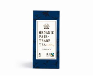 有機フェアトレード アールグレイ紅茶(ティーバッグ)(25パック2g)良質な有機セイロン紅茶をカットし有機ベルガモット精油を贅沢に噴霧♪