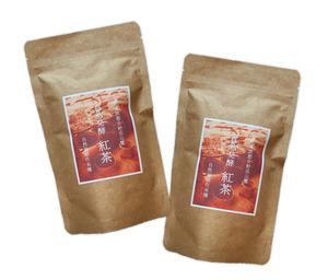 自然栽培 自然発酵 紅茶 (30g)X2袋☆奈良県大和高原産の無肥料無農薬栽培☆