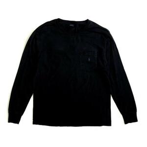 Polo by Ralph Lauren ポロバイラルフローレン ポケット ワンポイントロゴ ロングTシャツ ロンT メンズS