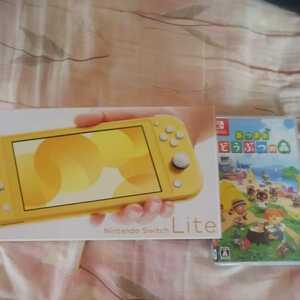 Nintendo Switch Lite イエロー 本体 & あつまれ どうぶつの森