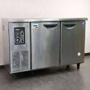 <引取限定i807>業務用冷蔵庫 サンヨー コールドテーブル 台下冷蔵庫 SUC-N1241J 業務用 店舗厨房業務用 店舗 厨房 動作確認済み