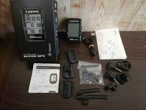 送料無料 レザイン スーパー GPS LEZYNE SUPER GPS サイコン サイクルコンピュータ・Bluetooth/Ant+ ダイレクトXマウント ステムマウント