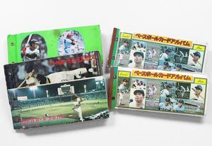 カルビー ◆ 70年代 プロ野球カード 350枚以上 (アルバム5冊付) ☆大量セット☆ 長嶋 王 巨人 阪神 中日 広島 大洋 他 まとめ売り ◆Z-4