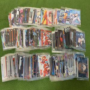 【即決】エヴァンゲリオン ウエハース カード 約270枚 SP 綾波レイ アスカ カヲル など 大量まとめ 未開封