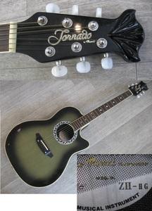 管理MZ-G2 ◆即決◆ Morris モーリス Tornado トルネード ZⅡ Z2 エレアコ USED *アコースティックギター アコギ