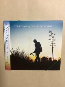 送料無料 テッド レノン「THE TASTE OF TIME」国内盤 デジパック仕様