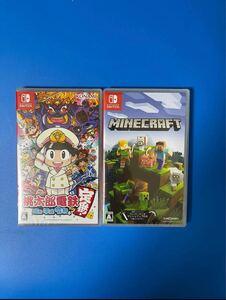 【新品未開封】【即納】Nintendo Switch 桃太郎電鉄〜昭和 平成 令和も定番!〜 + マインクラフト