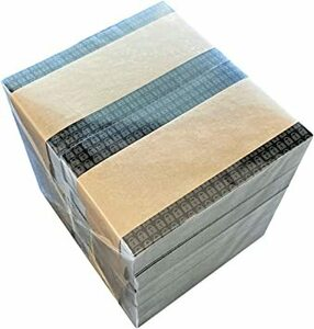 1000枚 ハガキ3割サイズ 個人情報保護シール ノーマルタイプ 貼り直し可能 50×90mm Hanaten (1