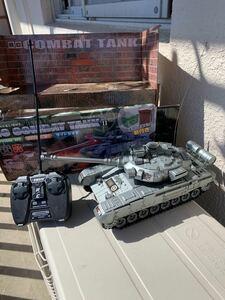 ラジコン 戦車 L25cm(32砲塔含む)H10cmW 12cmプロポ付 電池付き 6歳以上