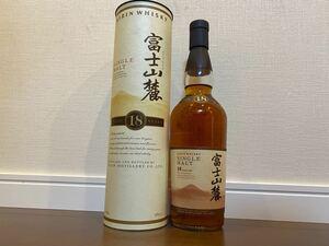 富士山麓 シングルモルト 18年 ジャパニーズ ウイスキー