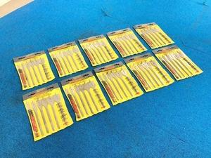 【米軍放出品】未使用品 AMERICAN TOOL スペードドリルビット スペードビッド 6本セット×10個 インチ 穴あけ 工具 (80)☆CI21J