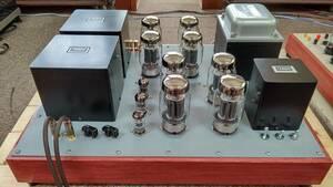 タンゴFW100-3.5 MC1.5-500 ラックス10F550 KT88パラレルプッシュプルアンプ
