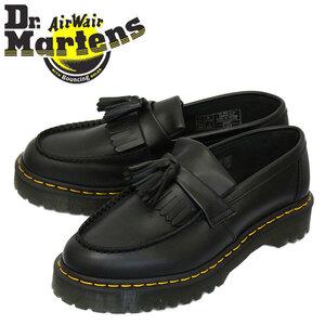 正規 Dr.Martens (ドクターマーチン) 26957001 ADRIAN BEX エイドリアン ベックス タッセルローファー レザーシューズ BLACK UK5-約24.0cm