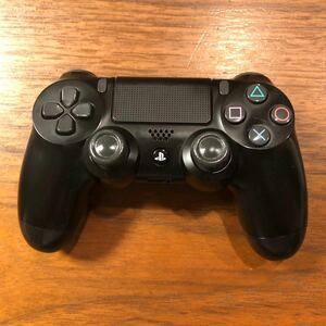 PS4 ワイヤレスコントローラー DUALSHOCK4 黒 ジャンク品