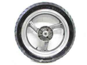 ジール 3YX タイヤ付 純正 リアホイール 曲りなし 検※ R1-Z ZEAL FZX250 FZR250R FZR400R FZ400 ヨシムラ モリワキ 89Q05